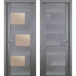 Межкомнатная дверь Домино экошпон