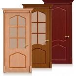межкомнатные двери Каролина шпон файн-лайн