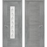 межкомнатная дверь Рондо серый дуб