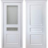 межкомнатные двери Ария белая фабрики Дверной Лидер