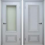 межкомнатные двери Поло Белый с серебром фабрики Дверной Лидер