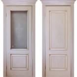 межкомнатные двери Прима Слоновая кость с золотом фабрики Дверной Лидер