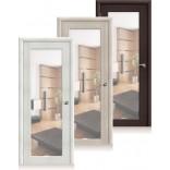 влагостойкие двери Аква-7 с зеркалом