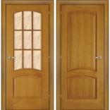 межкомнатная дверь Капри-3 дуб светлый