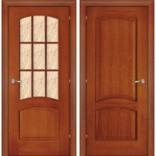 межкомнатная дверь Капри-3 темный орех
