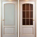 межкомнатные двери Белоруссии Верона Слоновая кость с золотом