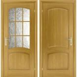 межкомнатные двери Капри-3 дуб Исток дорс