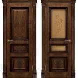 межкомнатная дверь Барселона дуб Брэнди
