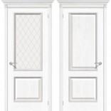 межкомнатные двери Шервуд белый дуб